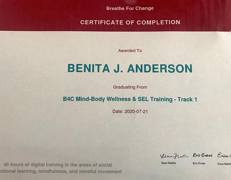 B4C Certificate